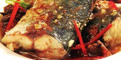 Cá ngừ kho thịt