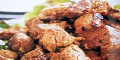 Thịt thăn rim tiêu